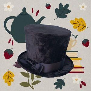 "[ victorian Black hat ] ""cosplay"""
